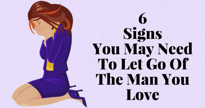 How to let a man love you