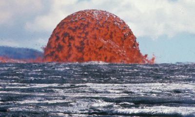 Scientists Share Rare Photo Of 65 Foot Tall Lava Dome In Hawaii, And It's Spectacular